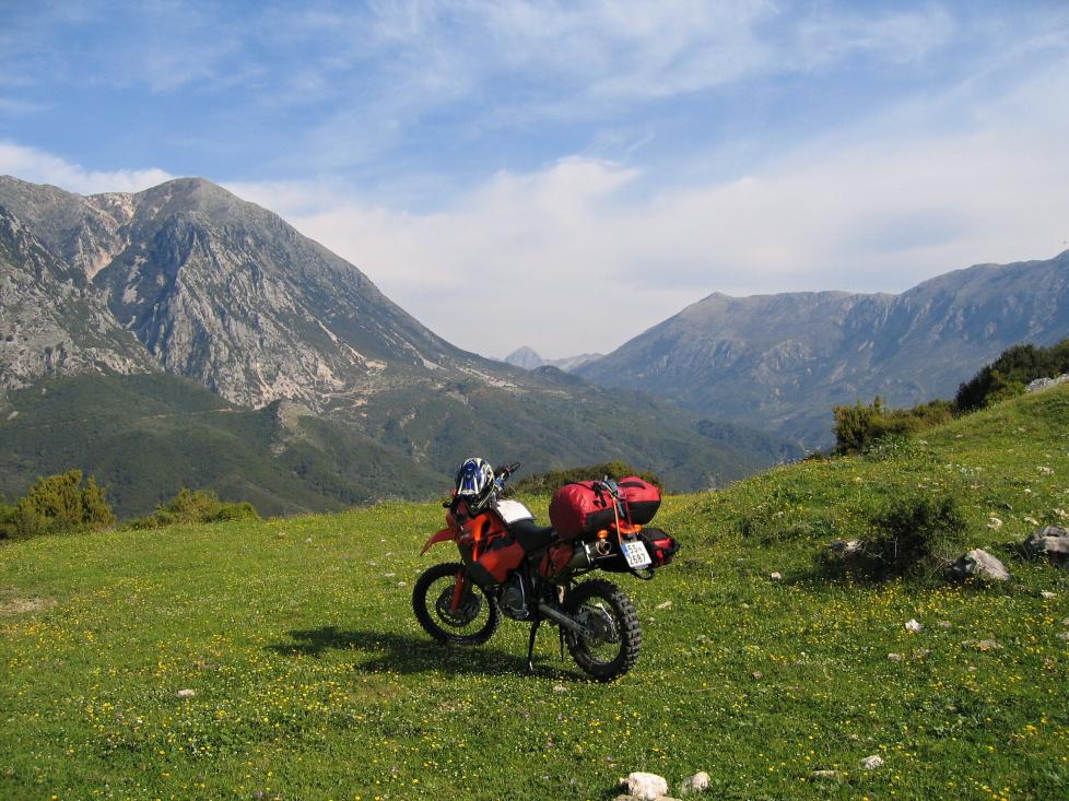 Jarní Albánie