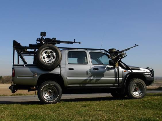 Toyota Hilux Libye Alžír