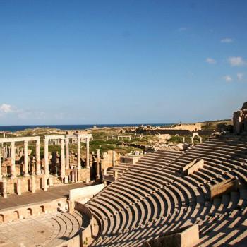 Leptis Magna Libye