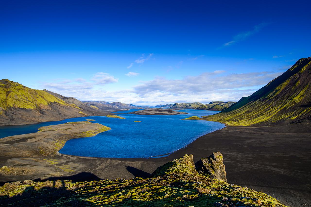 Island neznámá místa