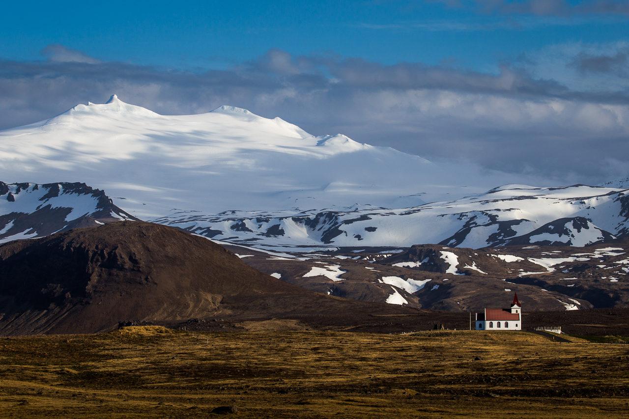 Snaefellsjökul, Island