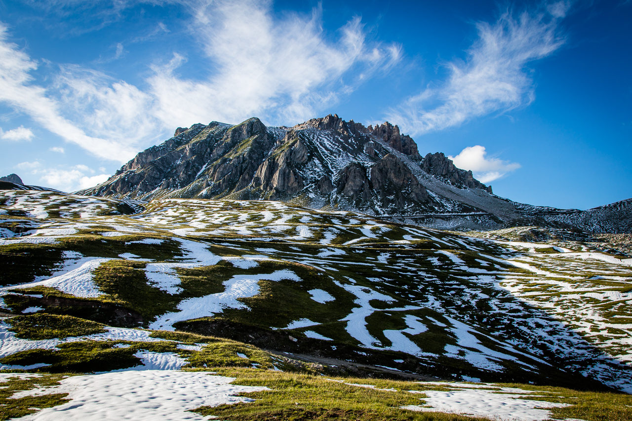 Colle Bandia, Alpské šotoliny