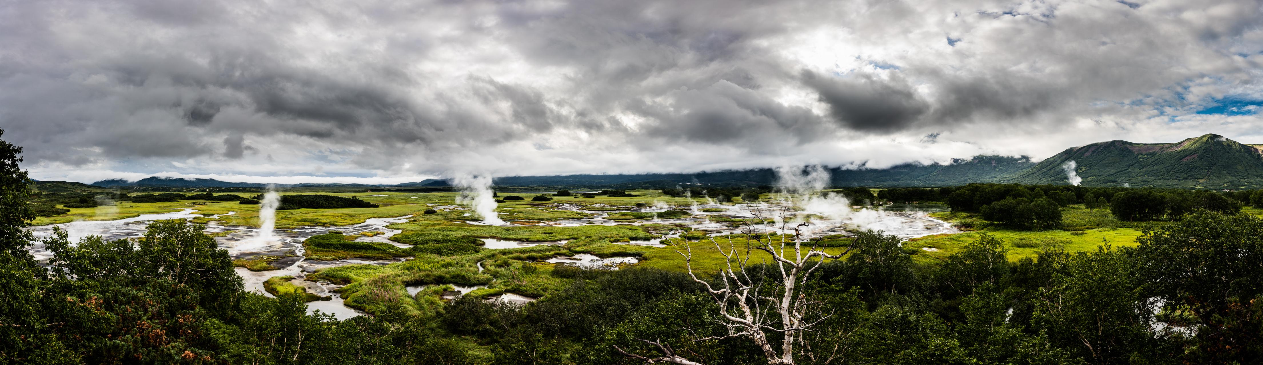 Uzon panorama