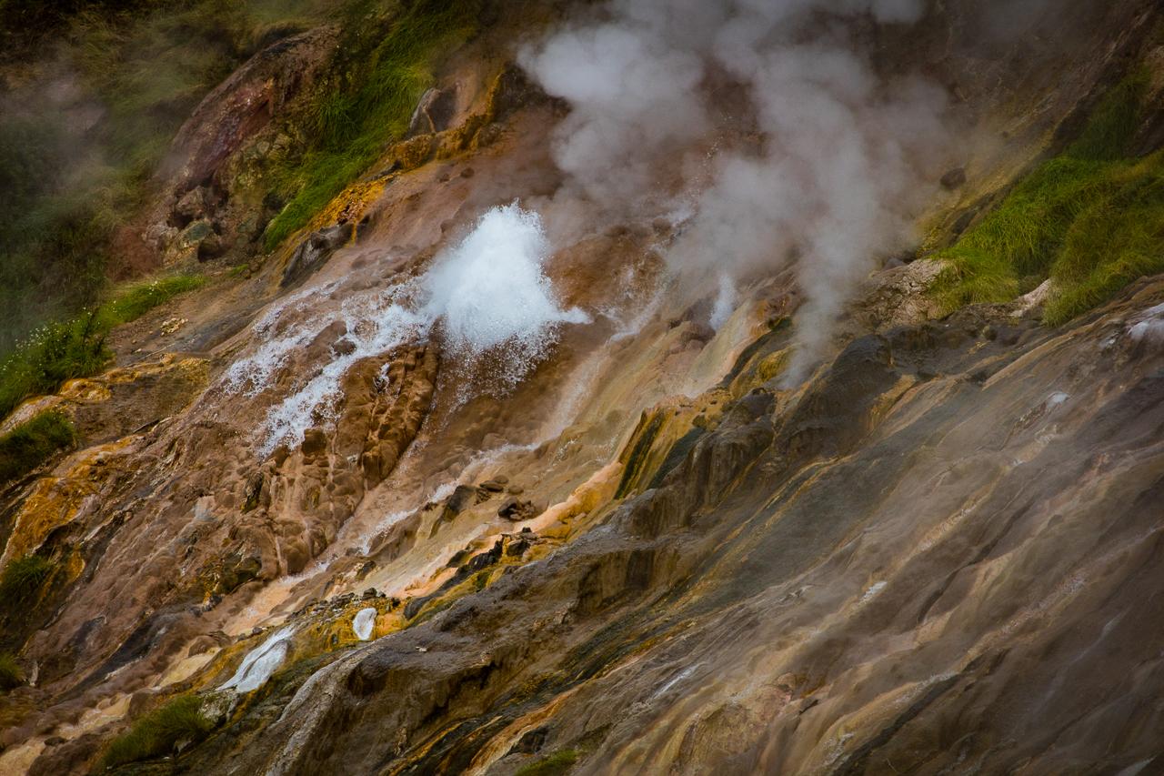 Kamchatka - Údolí gejzírů