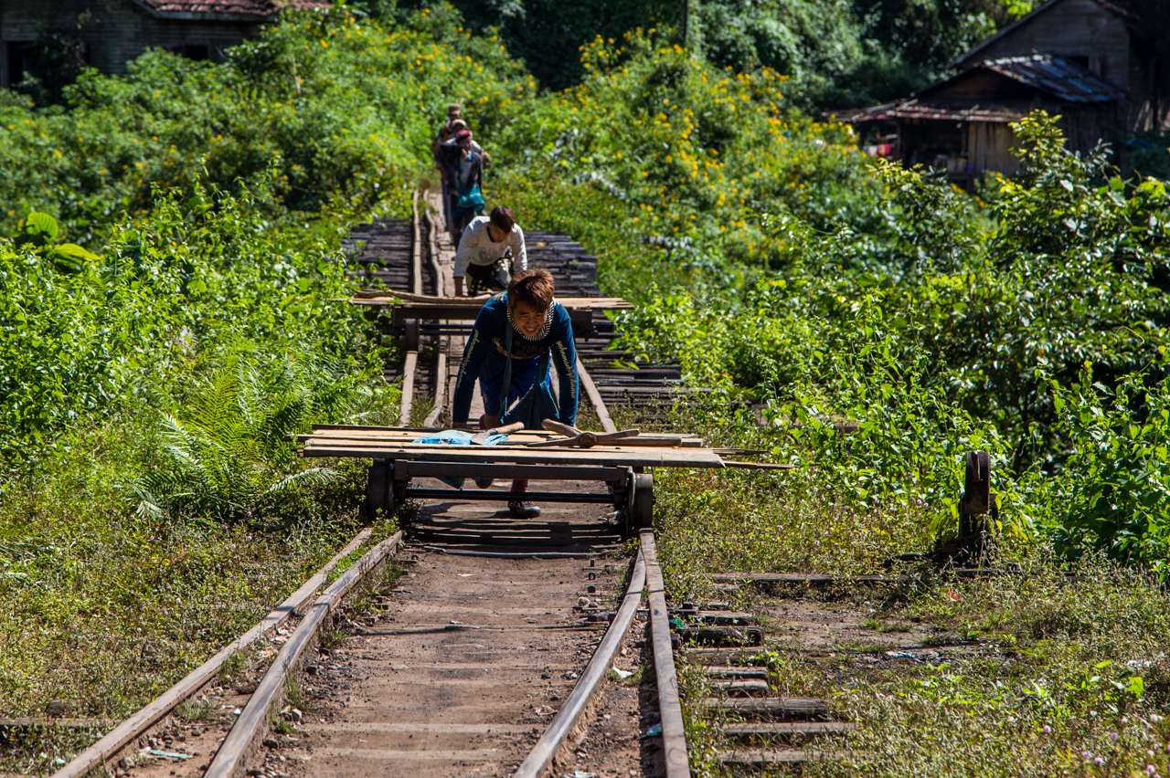 Burma Mines Railway – Namyo