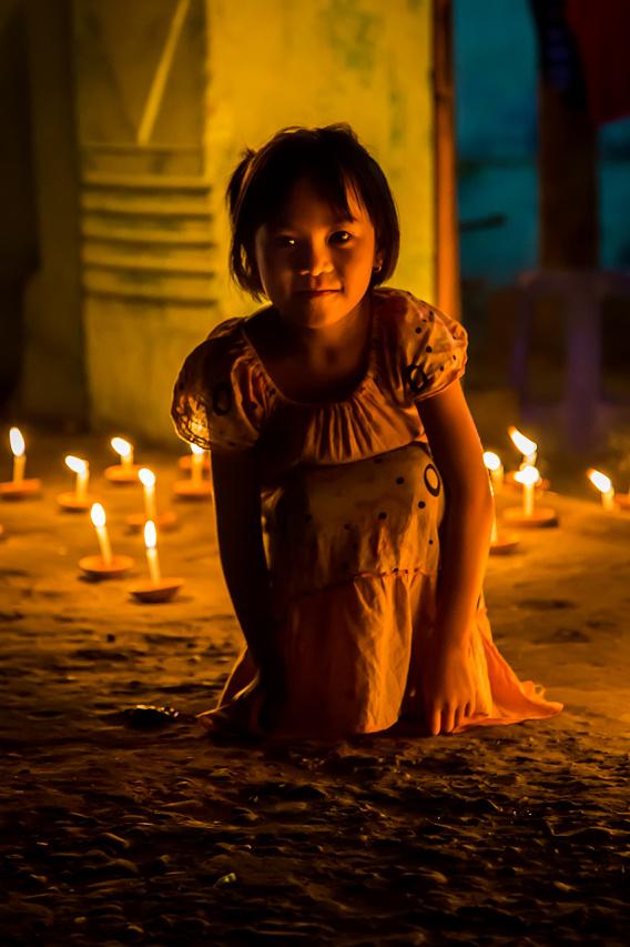 Oslavy úplňku v Barmě