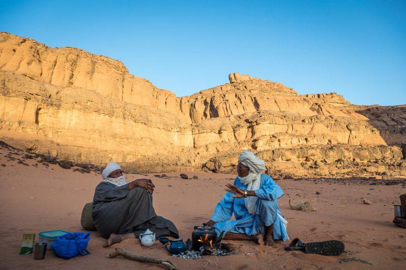 Alzir, Tadrart, Tuaregové