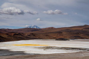Laguna de la Azufrera, volcano Llullaillaco