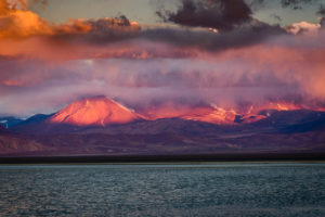 Nevado Tres Cruces, Laguna Santa Rosa