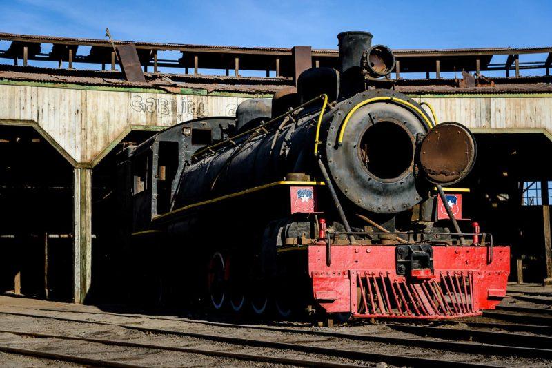 Baquedano Station and Railway Museum