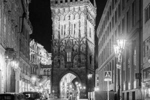 Praha Prašná brána koronavirus