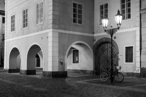 Praha Ovocný trh koronavirus