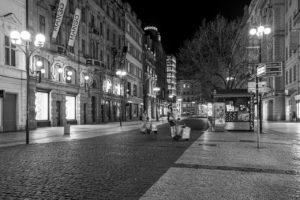 Praha Příkopy koronavirus