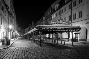 Praha Havelské tržiště koronavirus