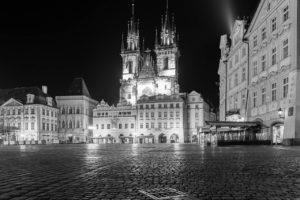 Praha Staroměstské náměstí koronavirus