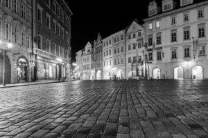 Praha Malé náměstí koronavirus