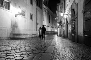 Praha Karlova ulice koronavirus